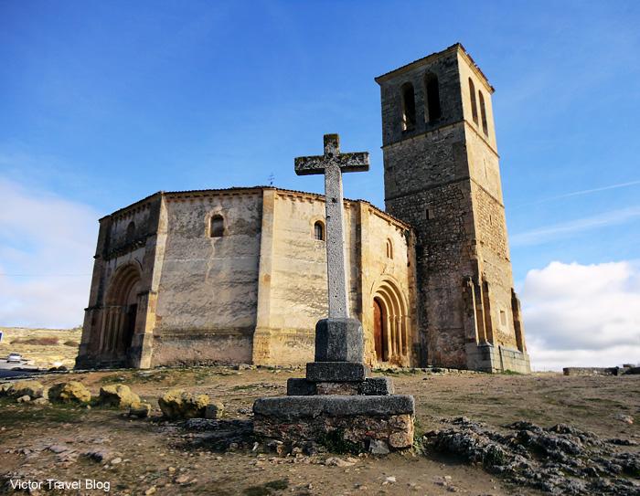 Templar's Iglesia Vera Cruz. Segovia, Spain.