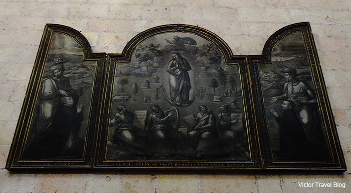 Triptyh in the Сathedral of Segovia. Spain.