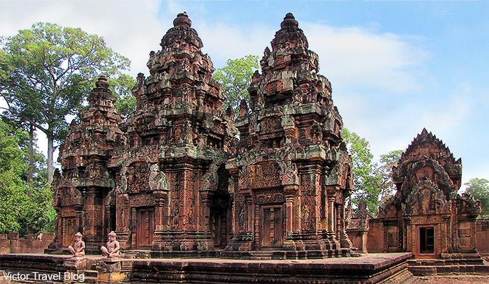 Banteay Srey Temple. Cambodia.