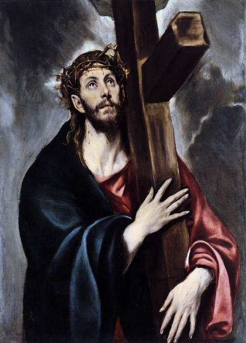 Christ carrying the Cross. El Greco. Museo del Prado. Madrid, Spain.