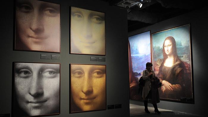 Leonardo da Vinci, Mona Lisa, also known as La Gioconda.