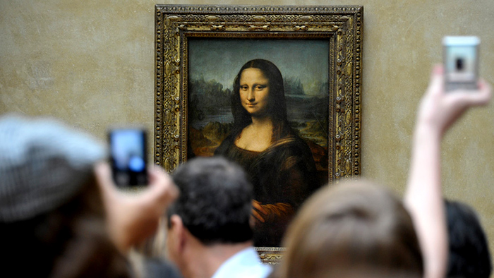 Leonardo da Vinci Mona Lisa, also known as La Gioconda.