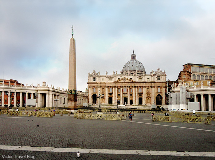 The Vatican City. Roma, Italy.