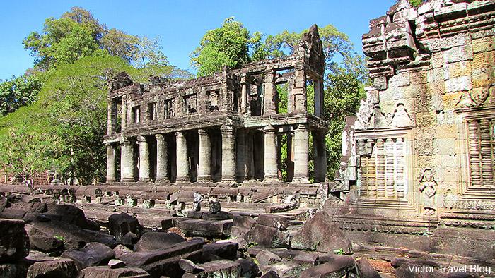 Preah Khan Temple. Angkor Complex, Siem Reap, Cambodia.
