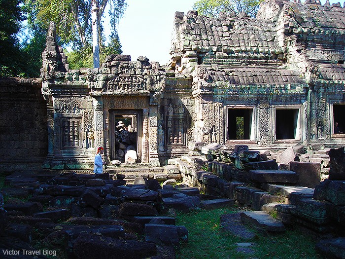 Ta Prohm Temple. Angkor Complex, Siem Reap, Cambodia.
