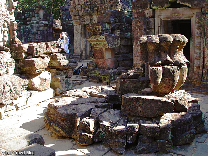 Ta Som Temple. Angkor Complex, Siem Reap, Cambodia.