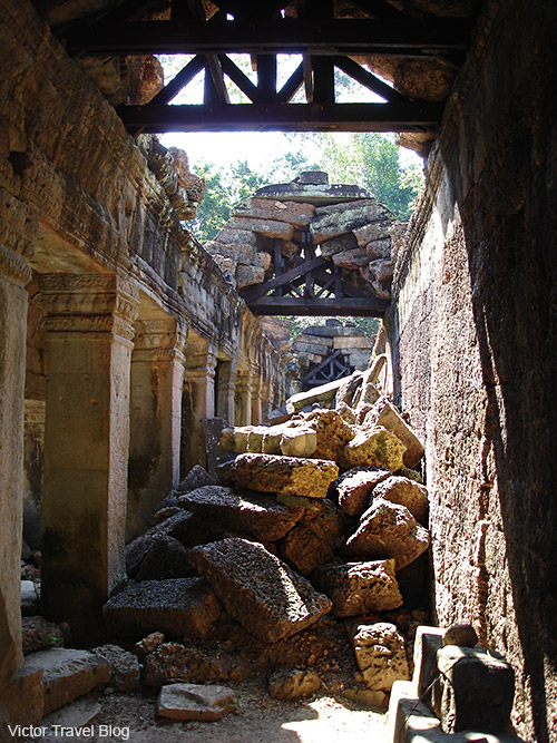 Ta Som Temple. Angkor Complex, Siem Reap, Cambodia.