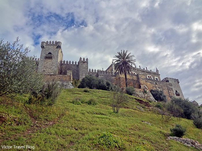 Castillo de Almodovar del Rio. Andalusia, Spain.