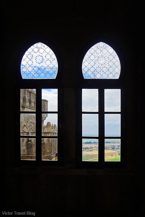 Inside of the Castillo de Almodovar del Rio. Andalusia, Spain.
