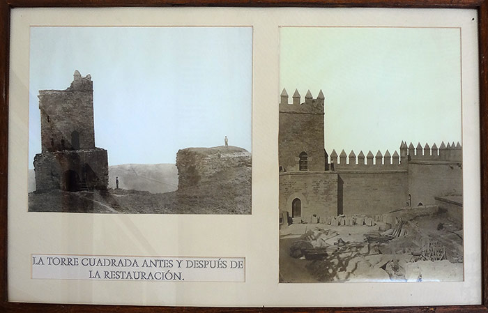 Restoration of the Castillo de Almodovar del Rio. Andalusia, Spain.
