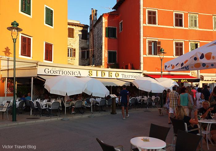 Trattoria Sidro. Rovinj, Istria, Croatia.