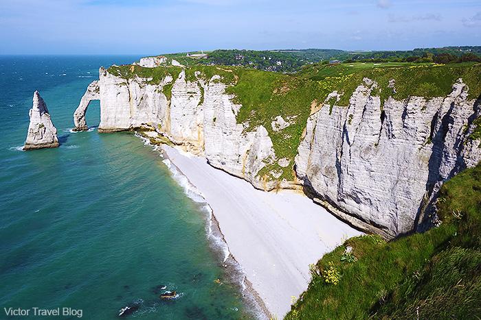 The Aiguille D'Etretat. Normandie, France.