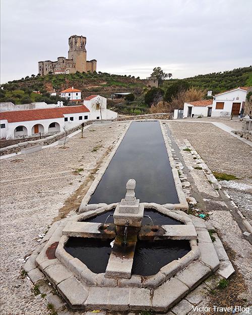 Castillo de los Sotomayor de Belalcazar. Cordoba, Andalusia, Spain.