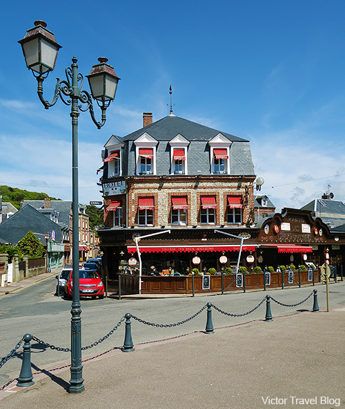 Etretat, Normandie, France.