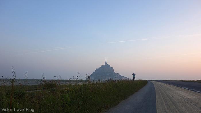 Mont St. Michel, Normandy, France.
