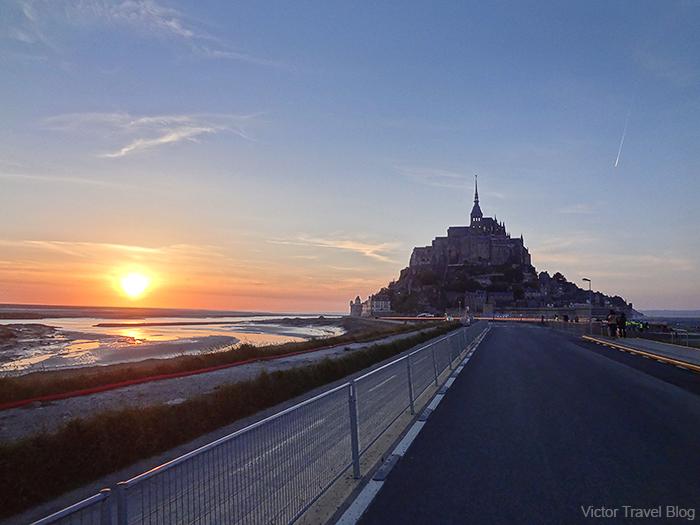 Le Mont Saint Michel, Normandie, France.