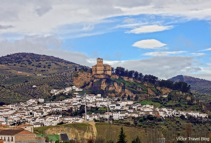 Montefrio Castle. Granada, Spain.