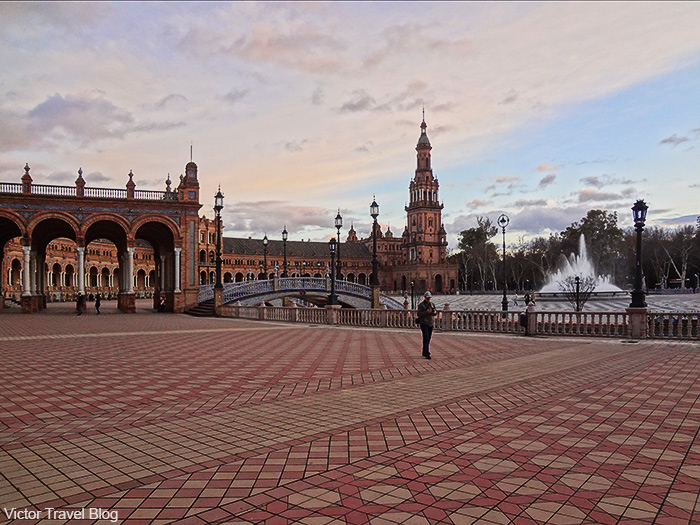Spain Square. Seville, Spain.