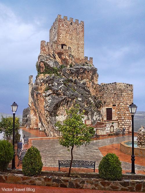 Zuheros Castle - Castillo Palacio de Zuheros. Andalusia, Spain.