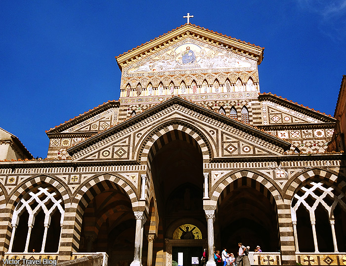 The Amalfi Cathedral. Amalfi, Italy.