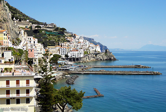 The Amalfi Coast. Italy.