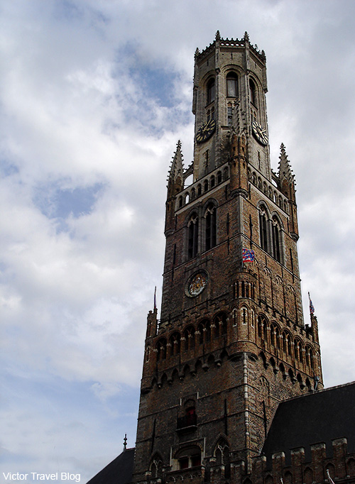 Belfort. Brugge, Belgium.