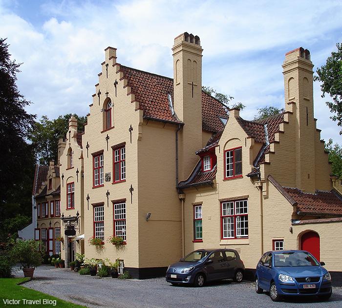 Hotel Egmond. Brugge, Belgium.