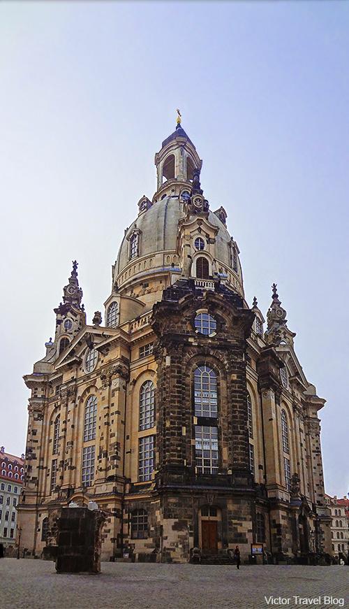 Frauenkirche today. Dresden. 2013.