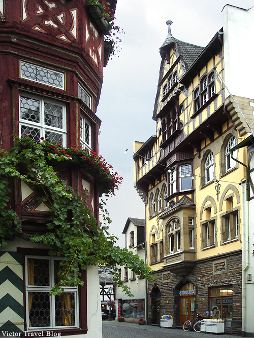 The town of Bacharach. Germany.