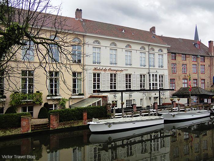 House in Brugge, Belgium.