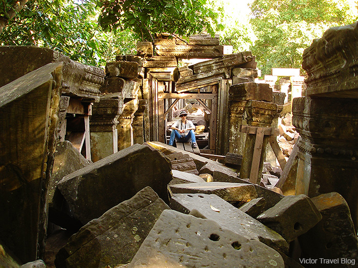 Ruins of the Beng Mealea temple. Siem Reap Province. Cambodia.