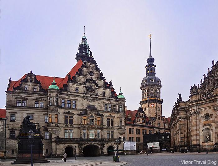 Stallhof. Dresden, Saxony, Germany.