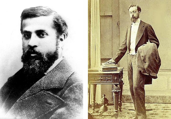 Antoni Gaudi and Eusebi Guell