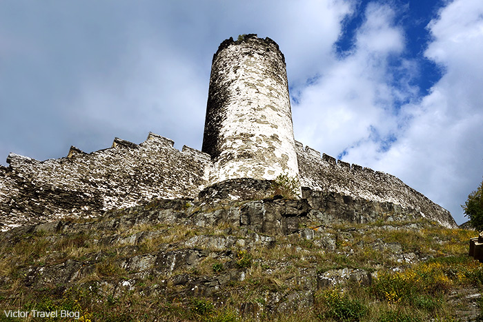 Devil's Tower of Bezdez Castle. Bohemia, Czechia.