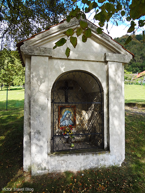 One of the chapels of Bezdez Hrad. Czech Republic.