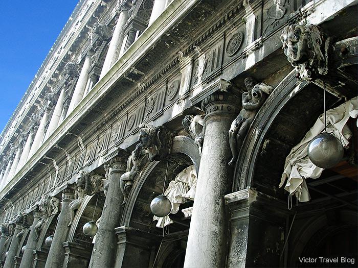 Procuration building. Venice, Italy.