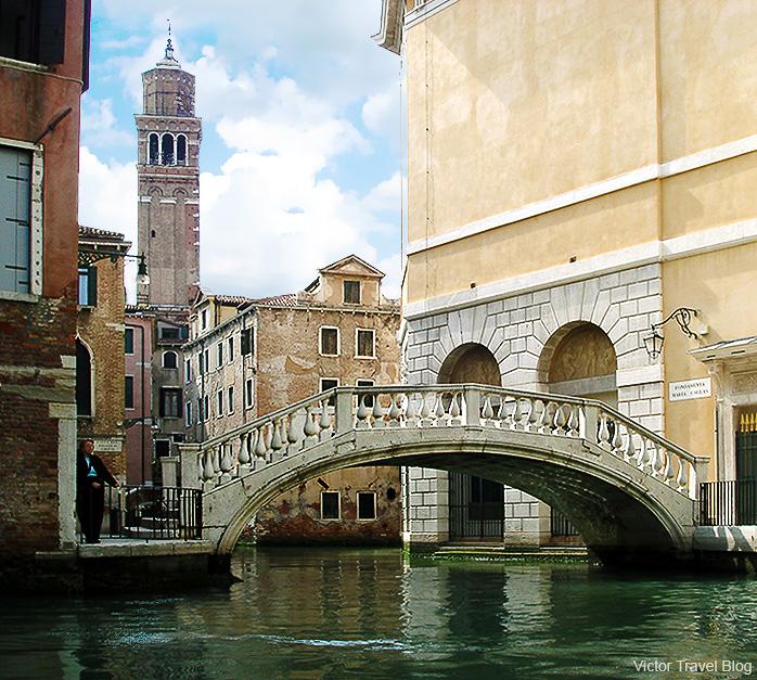 Sinking Venice. Italy.