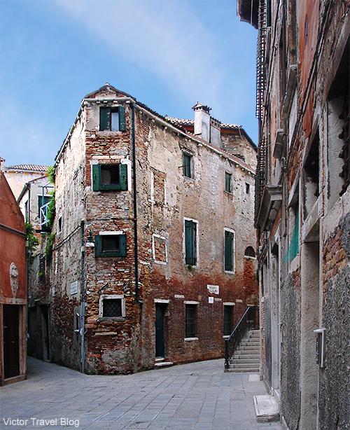 Street of Venice. Italy.