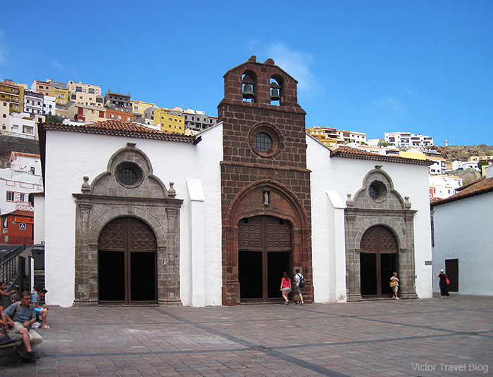 Iglesia Nuestra Senora Asuncion. La Gomera, Canary Islands, Spain.