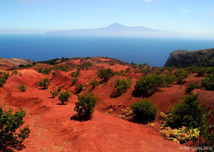 Mount Teide, the highest volcano of Spain, 3,719 m. The island of Tenerife, Canary Islands, Spain.