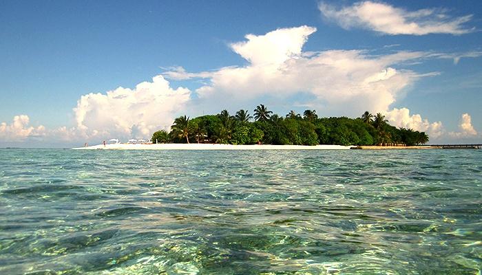 Vilamendhoo Island. The Maldives