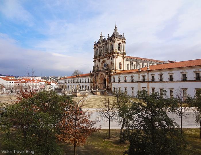 The Abbey of Santa Maria of Alcobaca. Portugal.