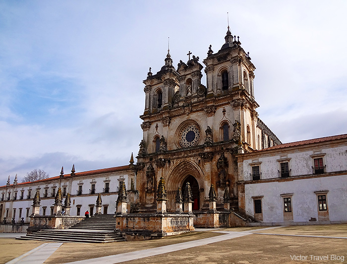 The Abbey of Santa Maria of Alcobaca. Portugal.