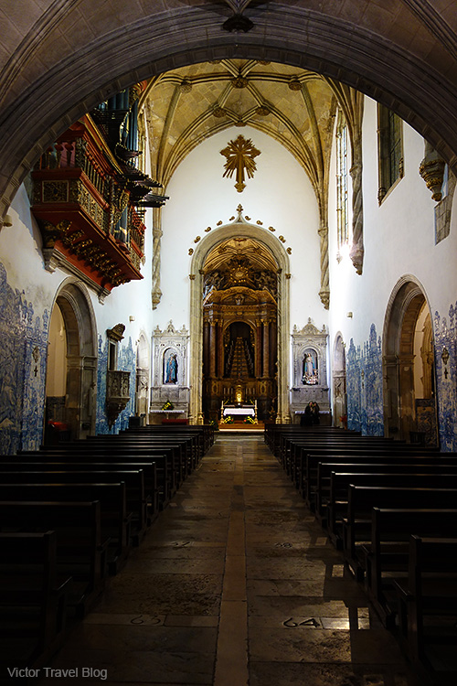 Monastery of the Holy Cross, Coimbra, Portugal.