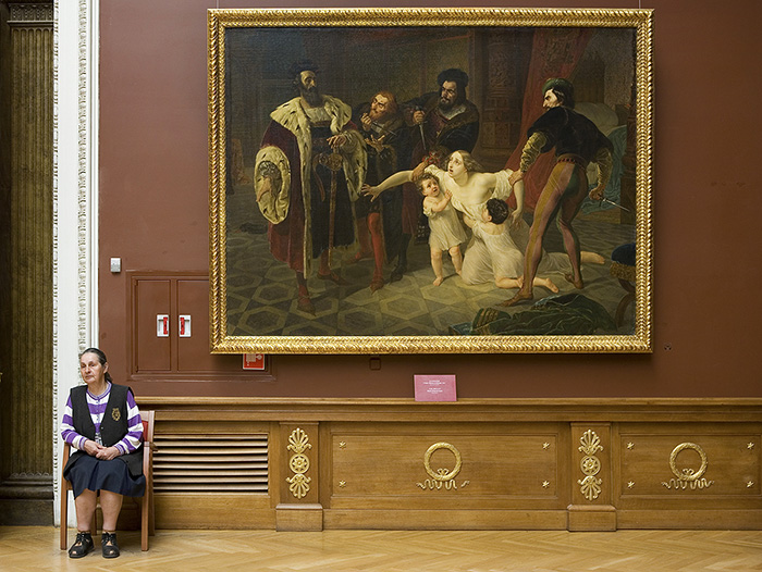 The Death of Ines de Castro by Karl Briullov. 1834. Russian Museum, St Petersburg, Russia.