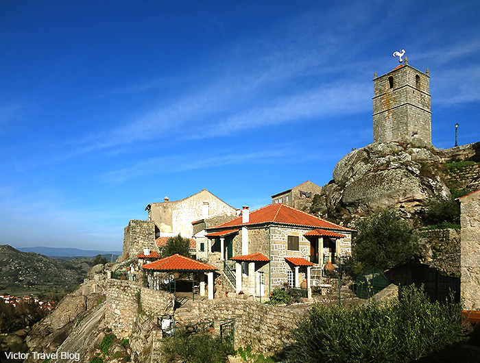Outskirts of the medieval village of Monsanto. Portugal.