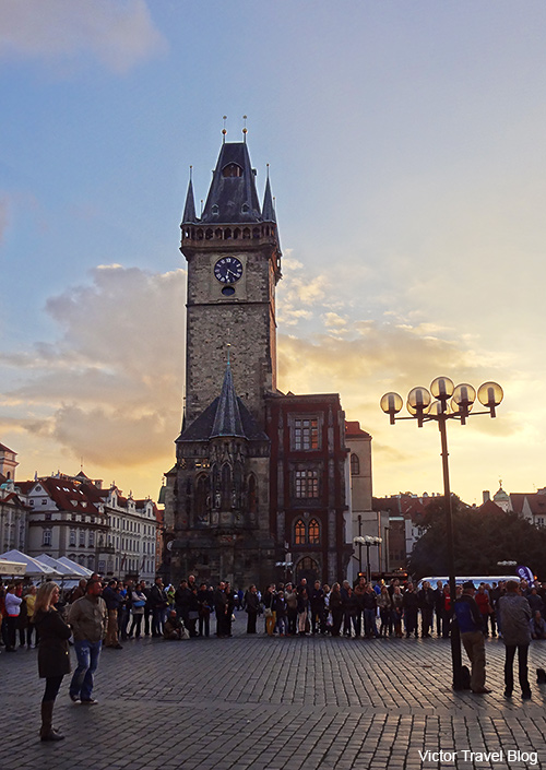 Old Town Hall Tower, Staromestska Radnice, Prague.