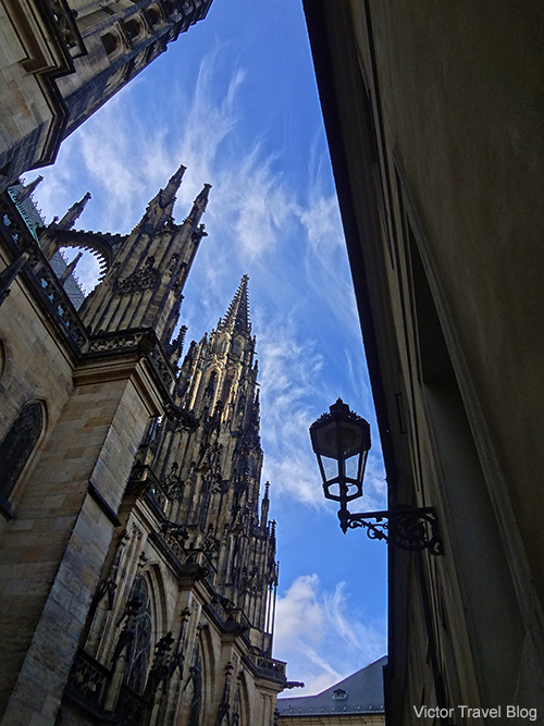 St. Vitus Cathedral. Prague. Czech Republic.