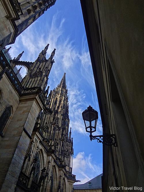 St. Vitus Cathedral. Prague. Czech Republic.