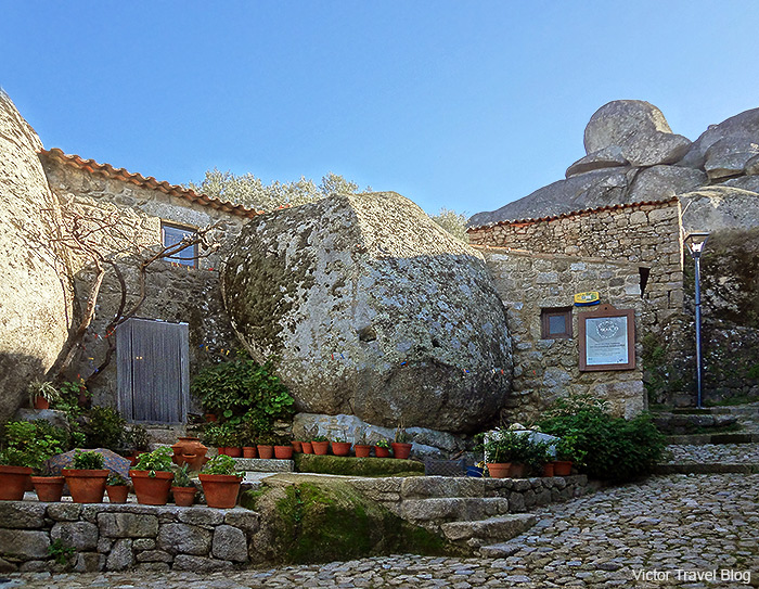 In the medieval Monsanto Village. Portugal.